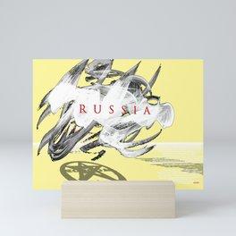 Shadow Russia Mini Art Print