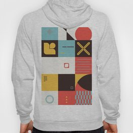 Abstract Geometric Composition 070 Hoody