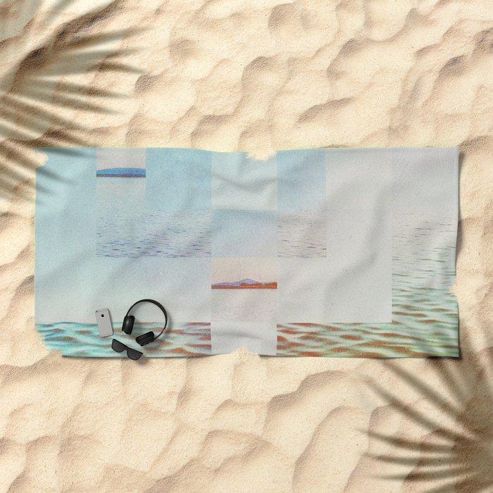 Fractions A51 Beach Towel