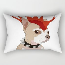Bad Ass Chihuahua Rectangular Pillow