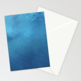 Lost at Sea Ocean Blue Photography Stationery Cards