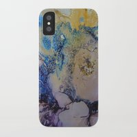 exo iPhone & iPod Cases featuring Exo - Birth Series II by Melina Green Art