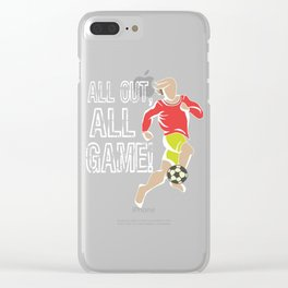 Soccer Football Championship Goal Nation Penalty Russia 5 Clear iPhone Case