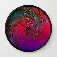 acid Wall Clocks featuring Acid by GypsYonic