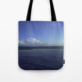 Jamaican Shoreline Tote Bag