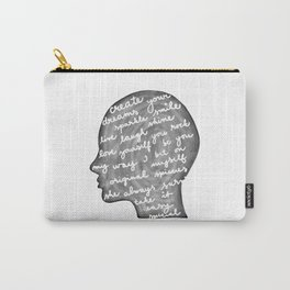 Positive words in my head Carry-All Pouch