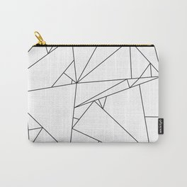 Abstract Origami Carry-All Pouch