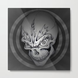 Every man must die Metal Print