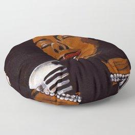 Billie Holiday Floor Pillow