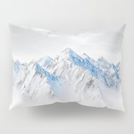 Snow Capped Mountains Pillow Sham