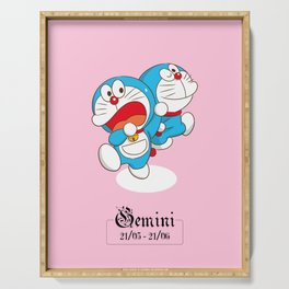 Doraemon Zodiac - Gemini Serving Tray