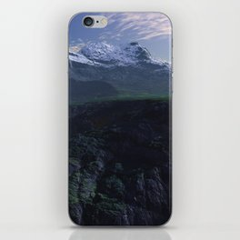 Virtual Italian Alps iPhone Skin