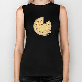 Pizza! Biker Tank