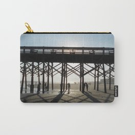 Folly Beach Pier Shadows Carry-All Pouch