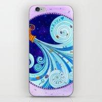 aquarius iPhone & iPod Skins featuring Aquarius by Sandra Nascimento