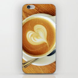 A Warm Cup of Love iPhone Skin