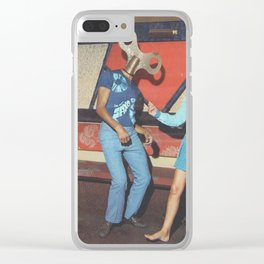 Danceophobia Clear iPhone Case