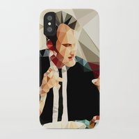 quentin tarantino iPhone & iPod Cases featuring Quentin Tarantino // Reservoir Dogs by VIVA LA GRAPH!