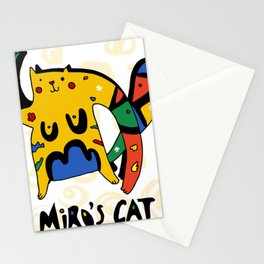 Joan Miro's Cat Stationery Cards