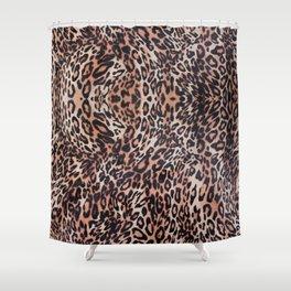 Leopard Skin Shower Curtain