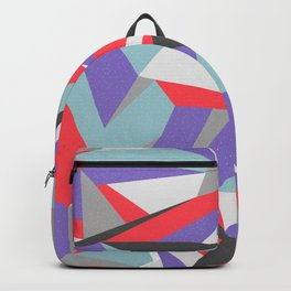 Contemporary Geometry Backpack