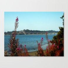 Hello Waldport Canvas Print