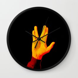 Live Long and Prosper - Leonard Nimoy Wall Clock
