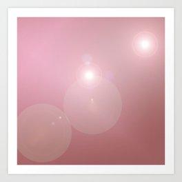 Pinkish Pastel Art Print