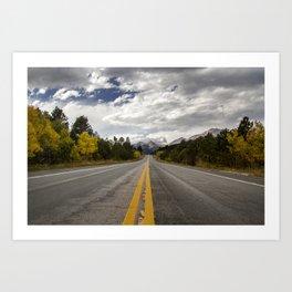 Road to Estes Art Print