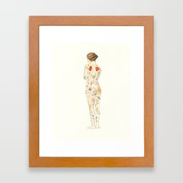 The Hidden Garden Framed Art Print