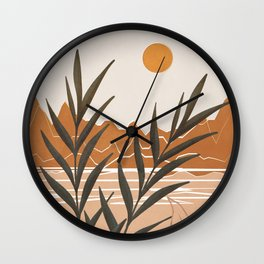 Bay Morning Wall Clock