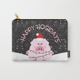 Happy Hogidays Carry-All Pouch