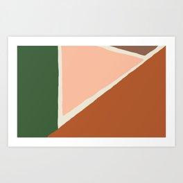 Vintage Palette Number 1 Art Print