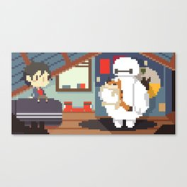 Big Hero 6: Hiro's Room Canvas Print