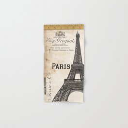 Paris Ooh La La 1 Hand & Bath Towel
