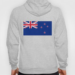 National flag of New Zealand - Authentic version to scale and color Hoody