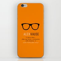 alex vause iPhone & iPod Skins featuring Alex Vause Connection #2 | OITNB by Sandi Panda