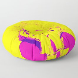 Bright Madonna Floor Pillow