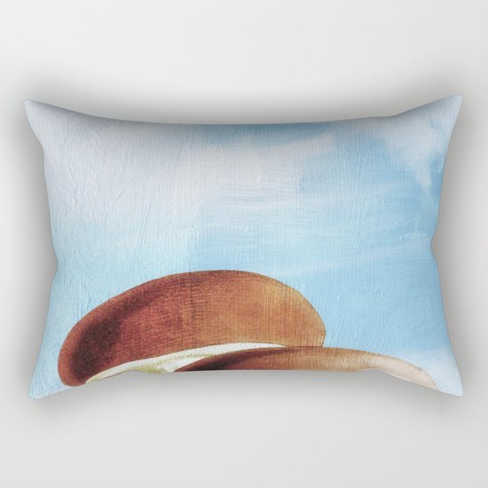 Mushroom Heaven Rectangular Pillow