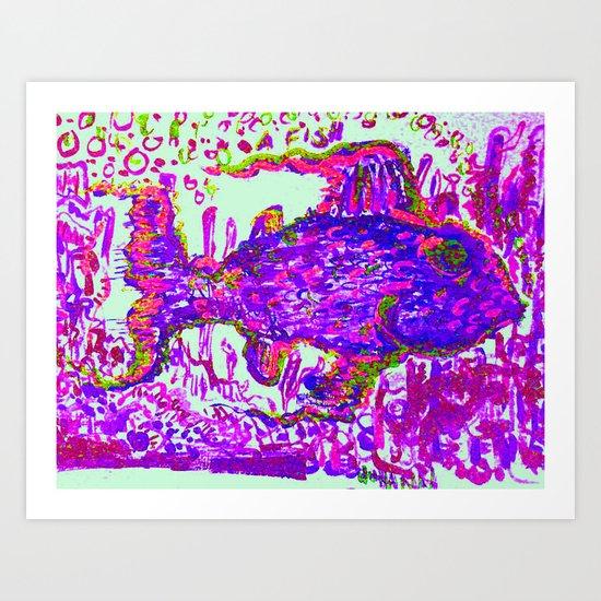 a f i s h Art Print