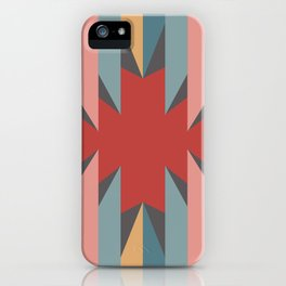 Red Star - Style Me Stripes iPhone Case