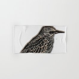 Norfolk sparrow Hand & Bath Towel