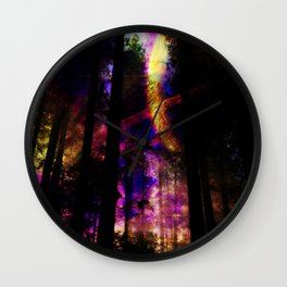 close your eyes and dream with me Wall Clock