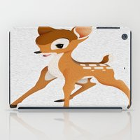 bambi iPad Cases featuring Bambi by MandiMccl