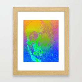 Skull/Star II Framed Art Print