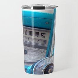 The blue steering wheel Travel Mug