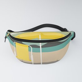 Yellow Sunset Fanny Pack