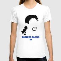 juventus T-shirts featuring Baggio Juventus by Sport_Designs