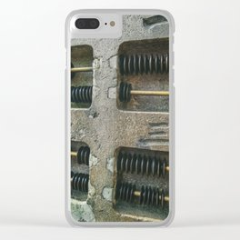Ancient Abacus Clear iPhone Case