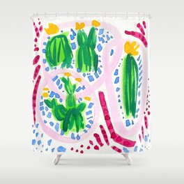 Flirty Girls Shower Curtain
